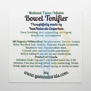 Yum Naturals Emporium - Bringing the Wisdom of Nature to Life - Bowel Tonifier Medicinal Support Tisane