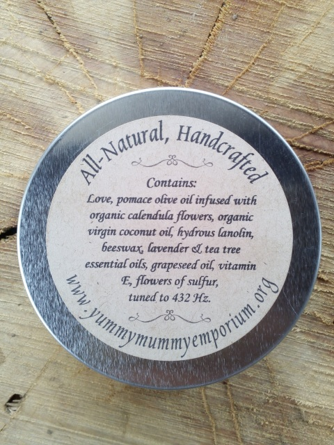 Yummy Mummy Emporium and Apothecary - Bringing the Wisdom of Mother Nature to Life - Calendula Wound Care Salve - Handcrafted All-Natural