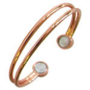 YumNaturals Emporium - Bringing the Wisdom of Nature to Life - Copper Magnetic Bracelet - 2 Wire