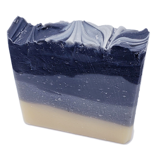 YumNaturals Emporium - Bringing the Wisdom of Nature to Life - Black Licorice Ombre Soap 1