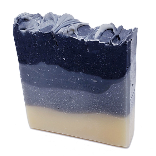 YumNaturals Emporium - Bringing the Wisdom of Nature to Life - Black Licorice Ombre Soap 2