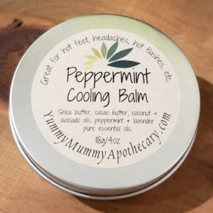 Yummy Mummy Emporium and Apothecary - Bringing the Wisdom of Mother Nature to Life - Peppermint Cooling Balm