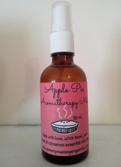 YumNaturals Emporium and Apothecary- Bringing the Wisdom of Mother Nature to Life - Apple Pie Aromatherapy Mist