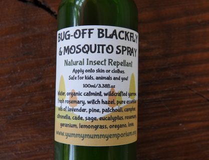 YumNaturals Emporium and Apothecary- Bringing the Wisdom of Mother Nature to Life - Bug Off Black Fly & Mosquito Spray
