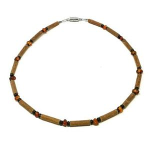 YumNaturals Emporium - Bringing the Wisdom of Mother Nature to Life - Genuine Amber & Hazelwood Necklace for Babies & Children_1