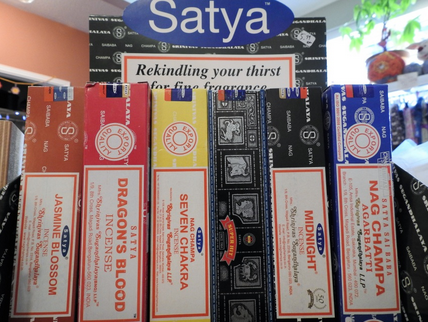 YumNaturals Emporium and Apothecary- Bringing the Wisdom of Mother Nature to Life - Genuine Satya Incense - Multiple Scents