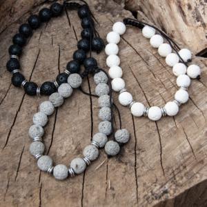 YumNaturals Emporium - Bringing the Wisdom of Nature to Life - All Colours Lava Bead Bracelet