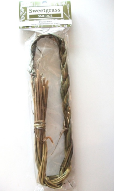 YumNaturals Emporium and Apothecary- Bringing the Wisdom of Mother Nature to Life - Sweet Grass Smudge Braid