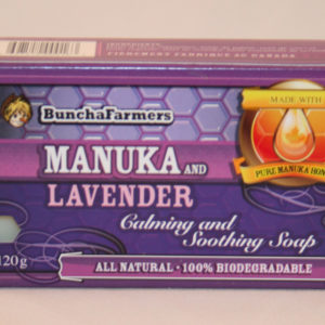YumNaturals Emporium - Bringing the Wisdom of Nature to Life- BunchaFarmers Manuka Lavender Natural Soap
