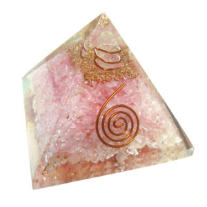 YumNaturals Emporium - Bringing the Wisdom of Nature to Life - Rose Quartz Orgone Pyramid