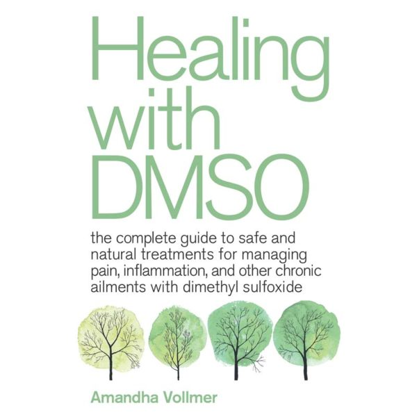 Healing with DMSO Book Cover - Front