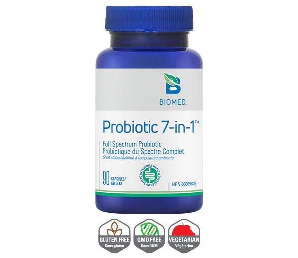 YumNaturals Emporium - Bringing the Wisdom of Nature to Life - Probiotic 7-in-1 Biomed