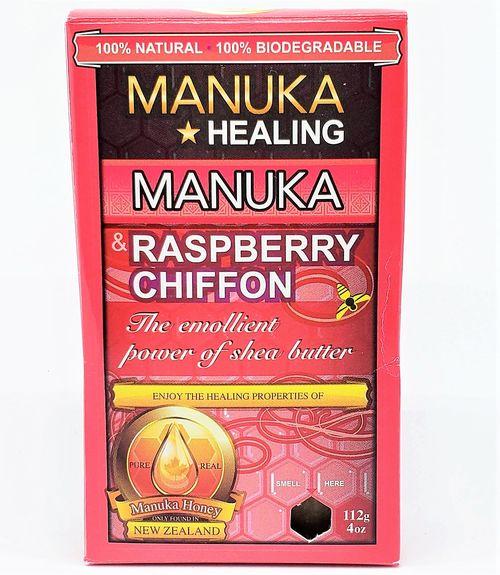 YumNaturals Emporium - Bringing the Wisdom of Nature to Life- BunchaFarmers Manuka Raspberry Chiffon Natural Soap