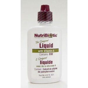 YumNaturals Emporium - Bringing the Wisdom of Mother Nature to Life - NutriBiotic Liquid w/ Vitamin A