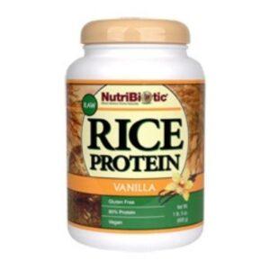 YumNaturals Emporium - Bringing the Wisdom of Mother Nature to Life - Nutribiotic Rice Protein Powder (Vanilla)