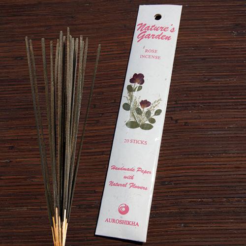 YumNaturals Emporium - Bringing the Wisdom of Nature to Life - Nature's Expression Incense Rose