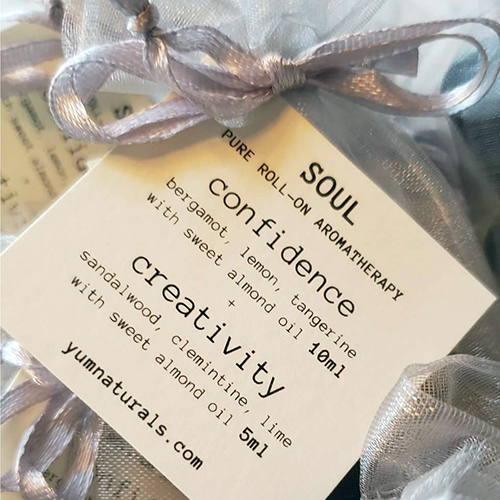 YumNaturals Emporium - Bringing the Wisdom of Nature to Life - Sacred Aromatherapy Roll On Soul
