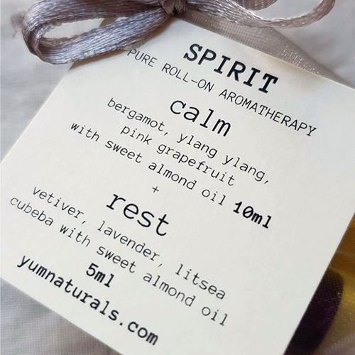 YumNaturals Emporium - Bringing the Wisdom of Nature to Life - Sacred Aromatherapy Roll On Spirit