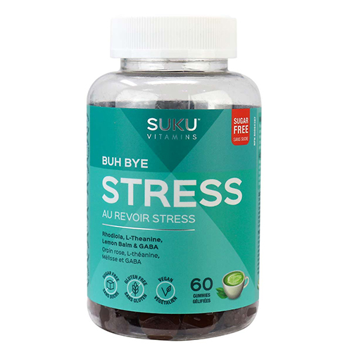 YumNaturals Emporium - Bringing the Wisdom of Nature to Life - SUKU Buh Bye Stress Gummies 1