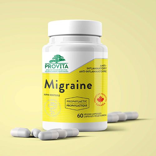 YumNaturals Emporium - Bringing the Wisdom of Mother Nature to Life - Provita Migraine 60 Caps