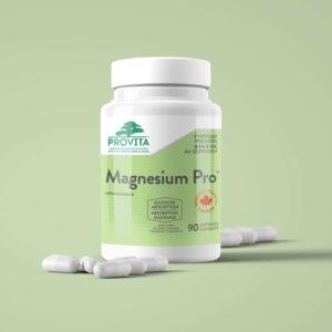 YumNaturals Emporium - Bringing the Wisdom of Mother Nature to Life - Provita Magnesium Pro 90 Caps