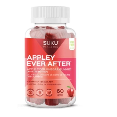 YumNaturals Emporium - Bringing the Wisdom of Mother Nature to Life -SUKU Appley Ever After 60 gummies