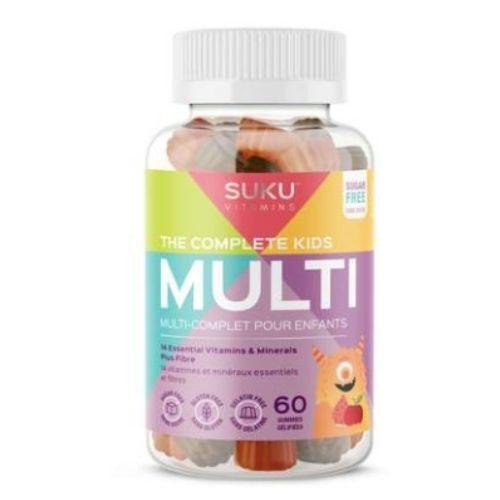 YumNaturals Emporium - Bringing the Wisdom of Mother Nature - SUKU Vitamins Kids Multi 60 gummies