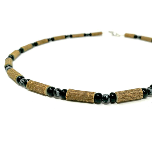 YumNaturals Emporium - Bringing the Wisdom of Mother Nature to Life - Hazelwood Snowflake Obsidian 2