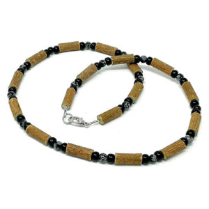 YumNaturals Emporium - Bringing the Wisdom of Mother Nature to Life - Hazelwood Snowflake Obsidian 1