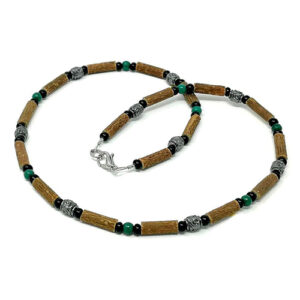 YumNaturals Emporium - Bringing the Wisdom of Mother Nature to Life - Hazelwood Jade Necklace Medieval Style 1