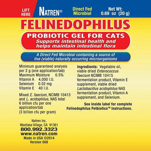 YumNaturals Emporium - Natren Felinedophilus 2