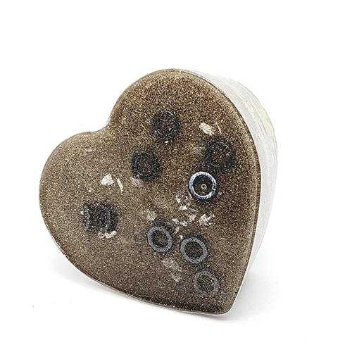YumNaturals Emporium - Bringing the Wisdom of Nature to Life - Orgonite Heart Assorted 2