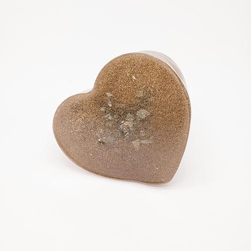 YumNaturals Emporium - Bringing the Wisdom of Nature to Life - Orgonite Heart Assorted 4