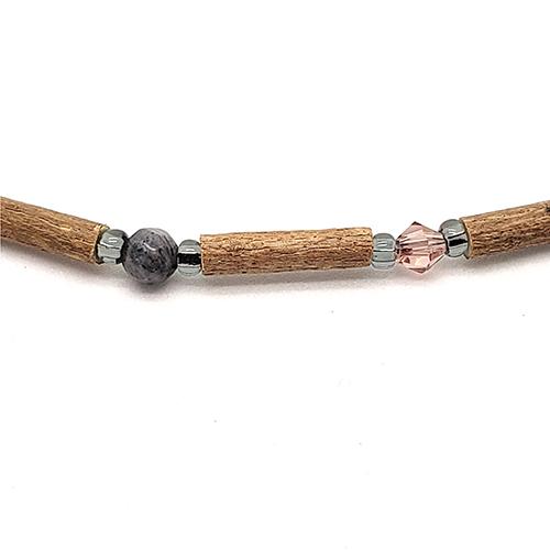 YumNaturals Emporium - Bringing the Wisdom of Mother Nature to Life - Hazelwood Labradorite Necklace 2