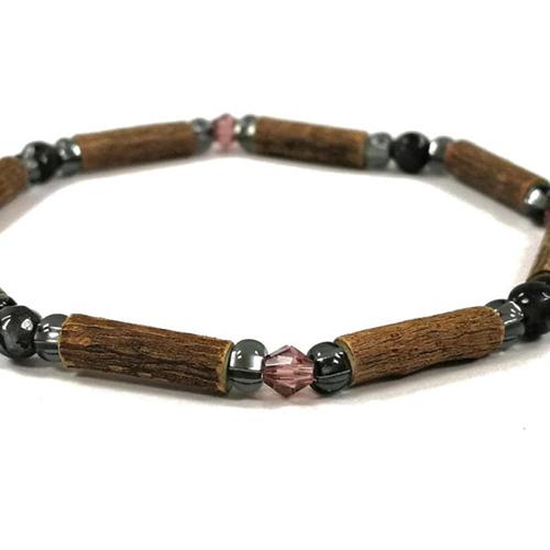 YumNaturals Emporium - Bringing the Wisdom of Mother Nature to Life - Hazelwood Labradorite Single Bracelet 2