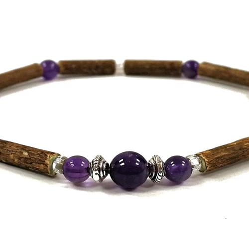 YumNaturals Emporium - Bringing the Wisdom of Mother Nature to Life - Hazelwood Amethyst Single Bracelet 2