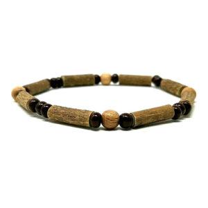 YumNaturals Emporium - Bringing the Wisdom of Mother Nature to Life - Hazelwood Natural Brown Single Bracelet 1