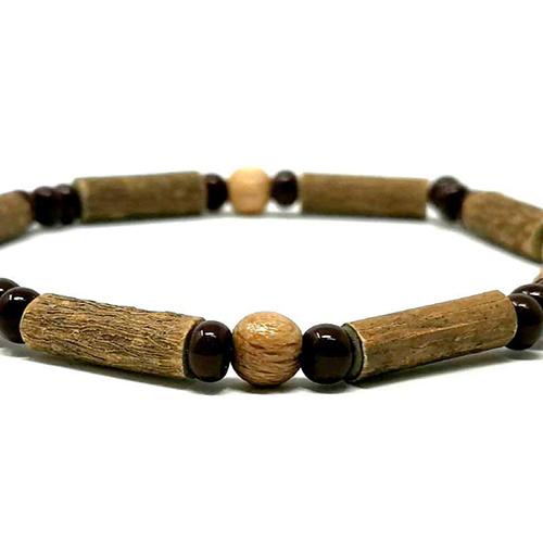 YumNaturals Emporium - Bringing the Wisdom of Mother Nature to Life - Hazelwood Natural Brown Single Bracelet 2