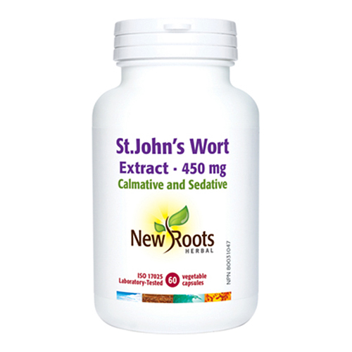 YumNaturals Emporium - Bringing the Wisdom of Mother Nature to Life - New Roots St. John's Wort Extract