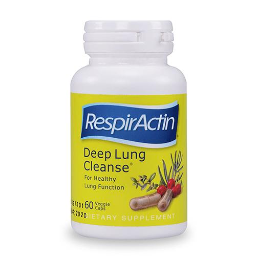 YumNaturals Emporium - Bringing the Wisdom of Nature to Life - SunForce RespirActin Deep Lung Cleanse