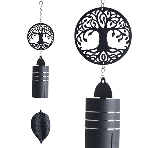 YumNaturals Emporium - Bringing the Wisdom of Nature to Life - Metal Wind Bell Tree Of Life