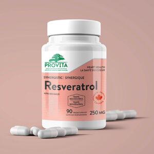YumNaturals Emporium - Bringing the Wisdom of Mother Nature to Life - Provita Resveratrol Forte