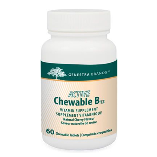 YumNaturals Emporium - Bringing the Wisdom of Nature to Life - Genestra Active Chewable B12