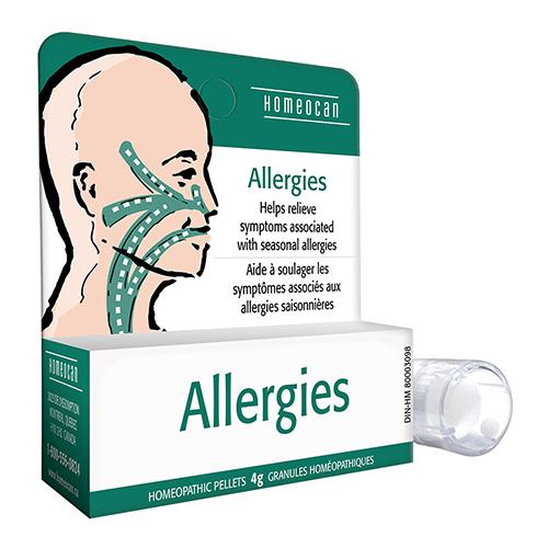 YumNaturals Emporium - Bringing the Wisdom of Nature to Life - Homeocan Allergies Pellets