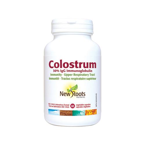 YumNaturals Emporium - Bringing the Wisdom of Mother Nature to Life - New Roots Colostrum 60