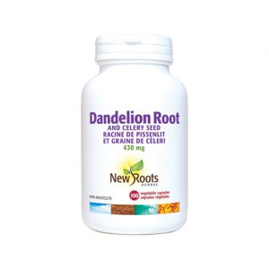 YumNaturals Emporium - Bringing the Wisdom of Mother Nature to Life - New Roots Dandelion Root 100