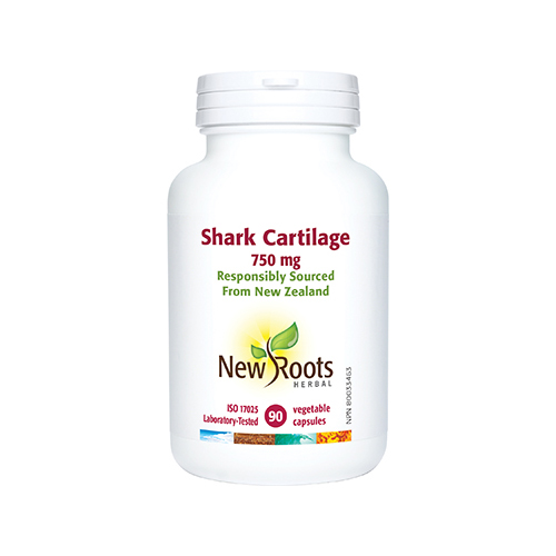 YumNaturals Emporium - Bringing the Wisdom of Mother Nature to Life - New Roots Shark Cartilage 90